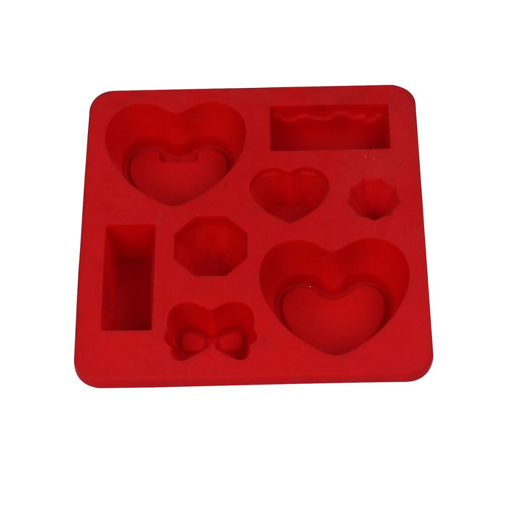 Security food grade silicone baking mold FDA custom silicone injection molding